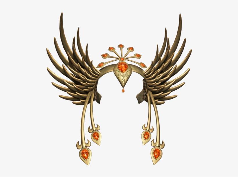 Queen Princess Goddess Hair Head Crown Gold Yellow - Illustration, transparent png #2469012
