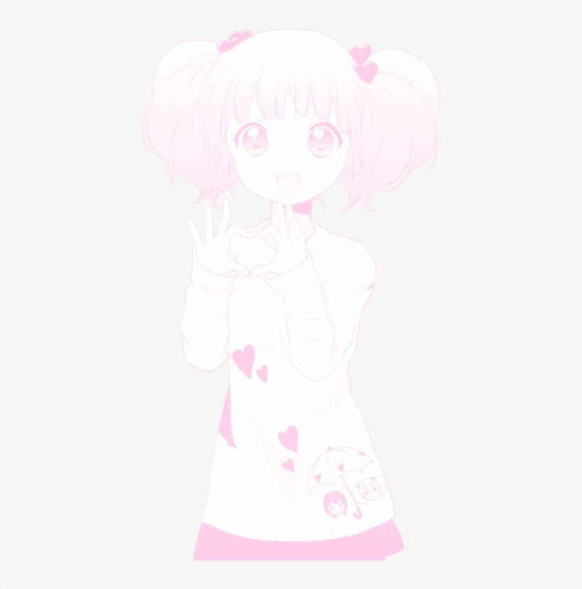 Cute Transparent Tumblr Soft Pink Anime Png Cute Transparent Cute