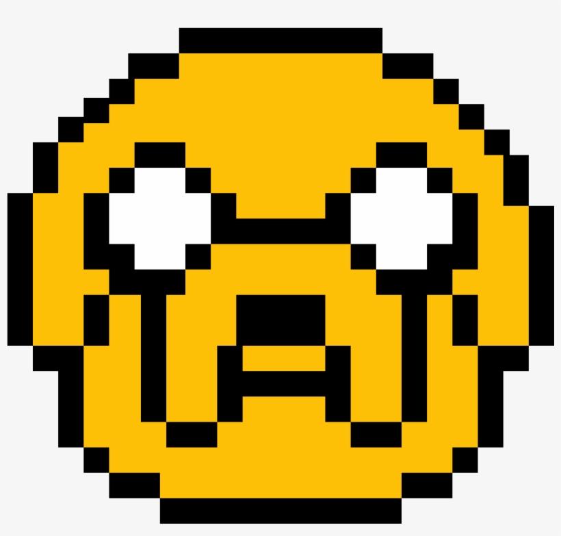 Jake Pixel Art Pixel Art Smiley Free Transparent Png