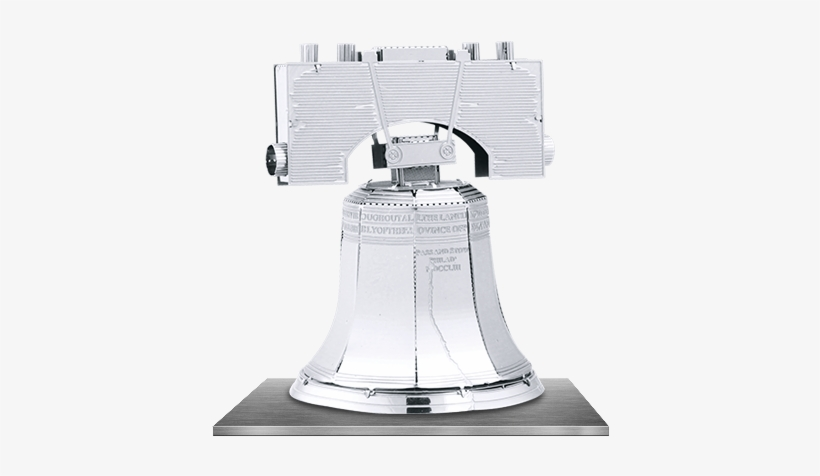 Picture Of Liberty Bell - Metal Works Liberty Bell 3d Laser Cut Model, transparent png #2470335