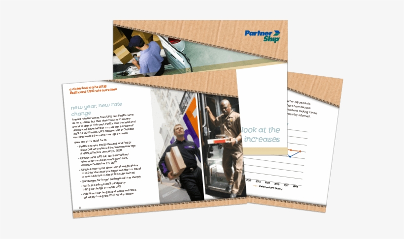 A Closer Look At The Fedex And Ups Rate Increases Whitepaper - Ups Man, transparent png #2471663