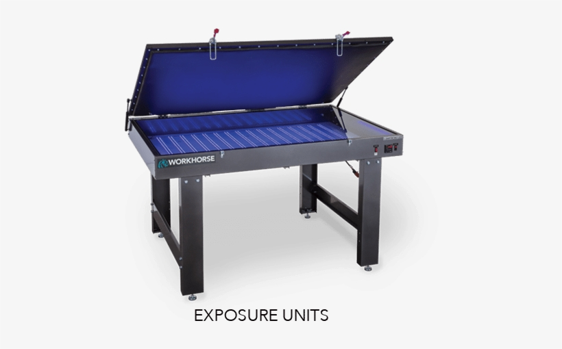 A World Leader In Precision Screen Printing Press Machines - Workhorse Screen Printing, transparent png #2473025
