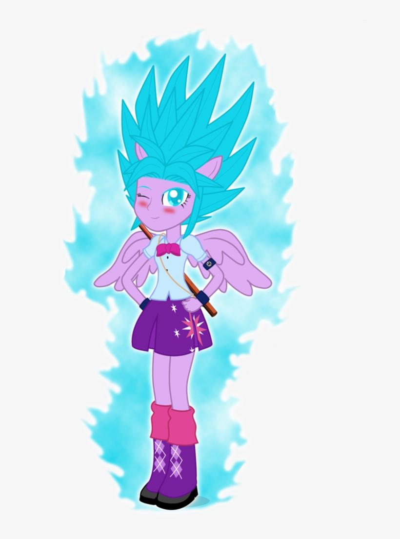 Gonzalossj3, Dragon Ball Z, Equestria Girls, Goku, - Twilight Sparkle Super Saiyan God, transparent png #2473184