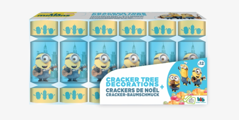 Minions Crackers - Minions Birthday Card, transparent png #2475422