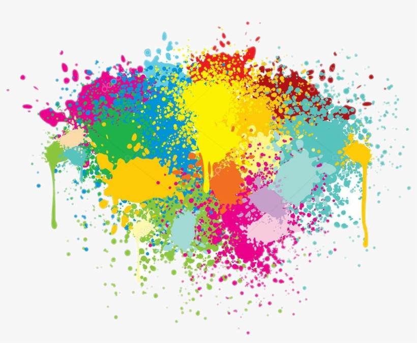 Report Abuse - Painting Colors Splash Png, transparent png #2475856