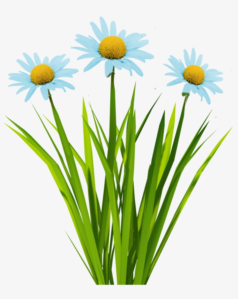 Billboard Texture Png - Grass With Flowers Animated, transparent png #2476779
