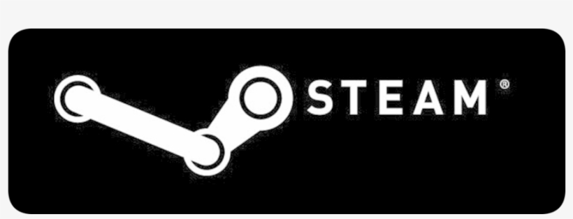 Logo Steam Blackbg - Get It On Steam Button, transparent png #2478138