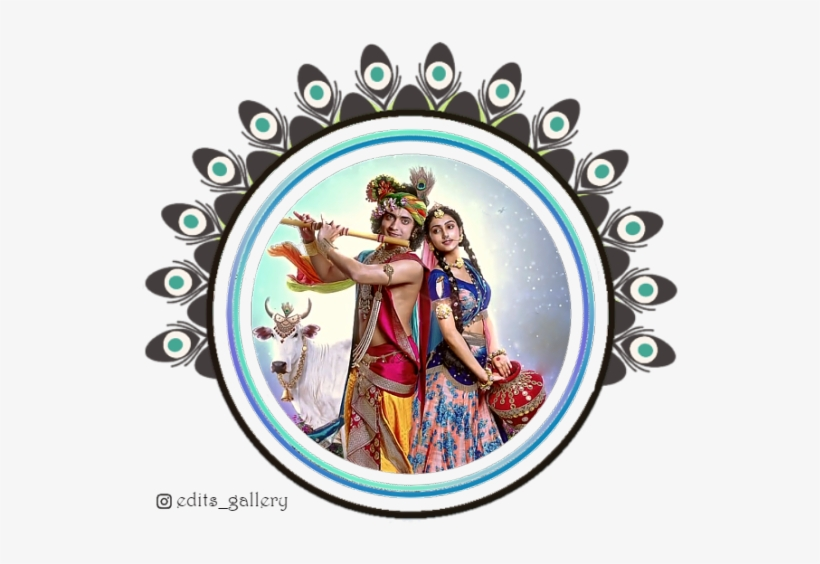 Edited By Barble - Radha Krishna Star Bharat - Free Transparent PNG