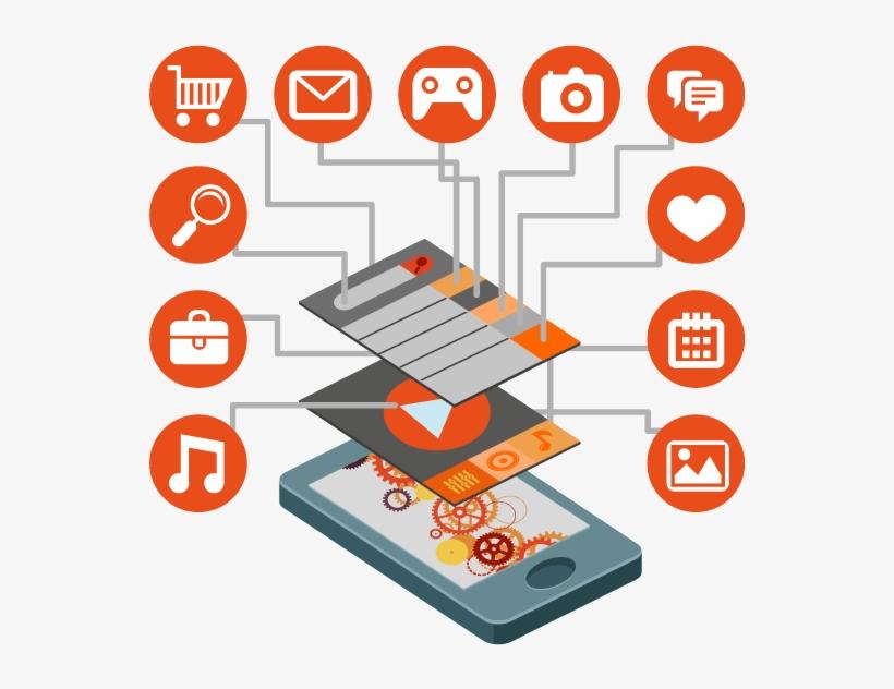 Mobile App Development - Mobile App Development Vector Png, transparent png #2491689