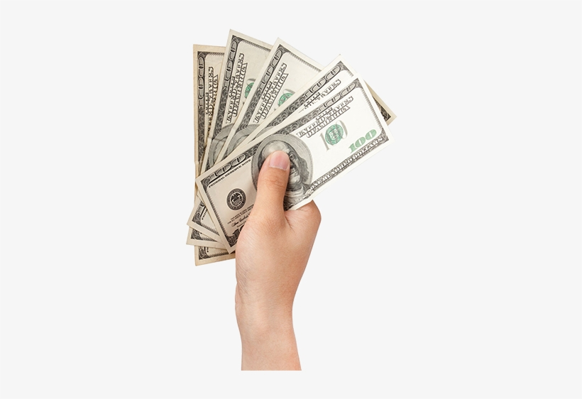 Money In Hand Png, transparent png #2493006