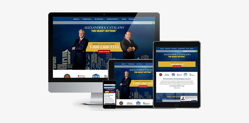 Legal Web Design Responsive Website Design By Acs Inc - Acs Web Design & Seo - Syracuse Web Design &, transparent png #2493326