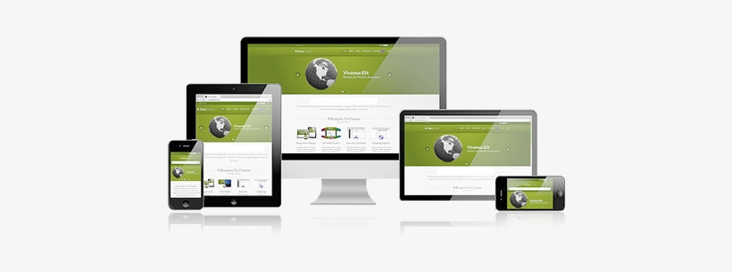 Responsive Web Design Qatar - Responsive Web Design Examples, transparent png #2493506