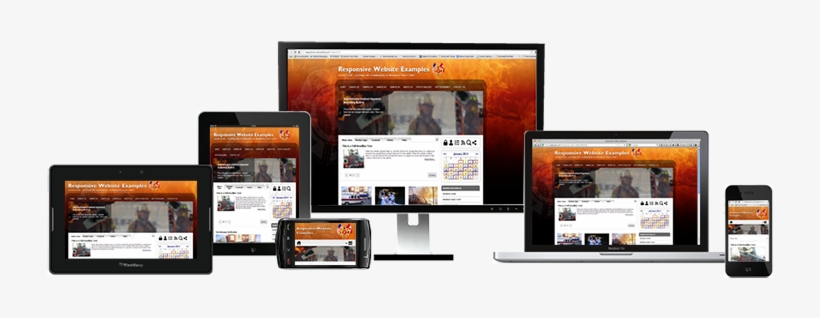 Responsive Websites Automatically - Website On Multiple Devices, transparent png #2493549