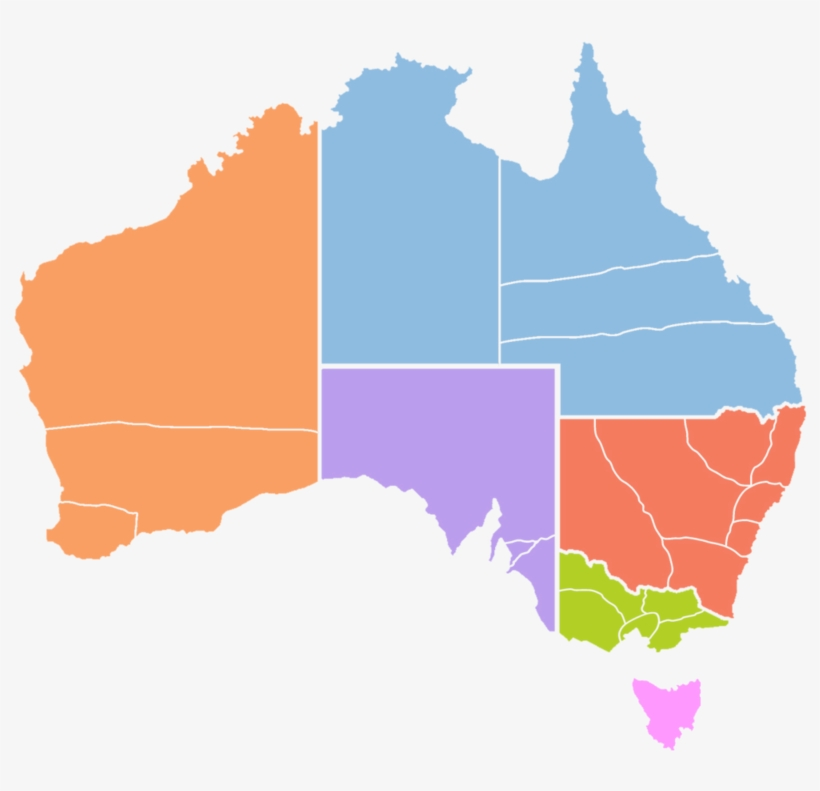 Australia Map Provinces.The Six Provinces And 23 Dioceses Of The Map Of Australia