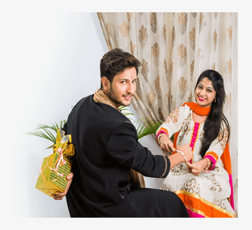 Send Rakhi Gifts To India Talash - Raksha Bandhan Sister Brother, transparent png #2494635