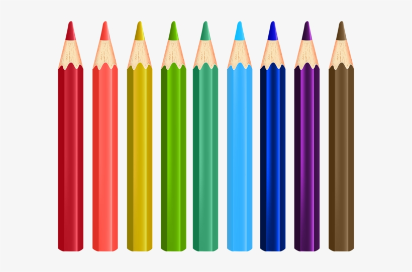 Pencils Png Clip Art Image Gallery - Colored Pencils Clipart Transparent, transparent png #2495913
