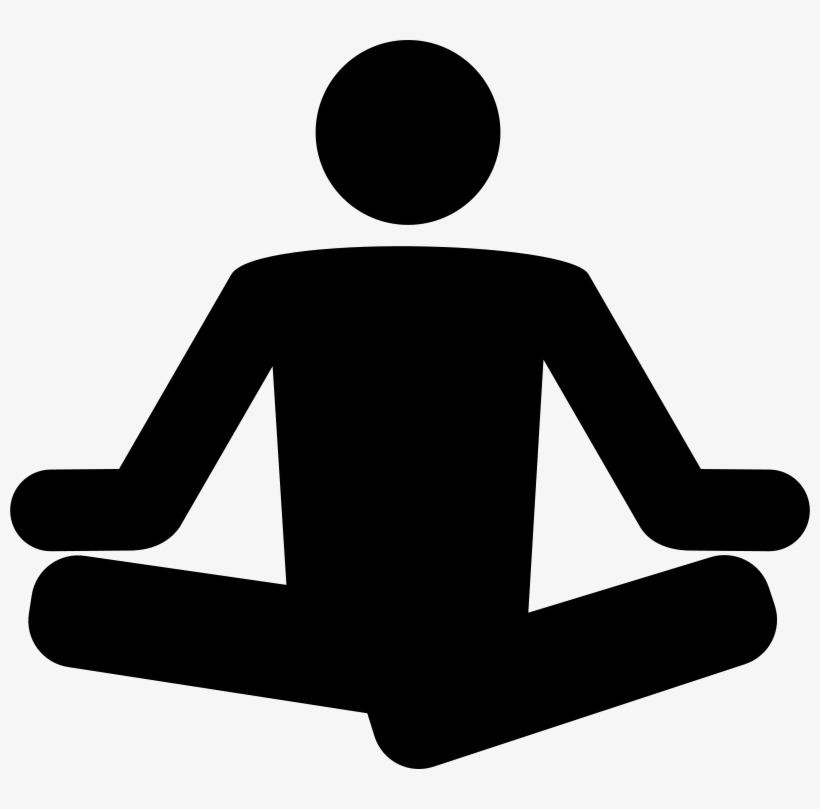 Free Yoga Clipart Meditation Clipart Black And White Free Transparent Png Download Pngkey
