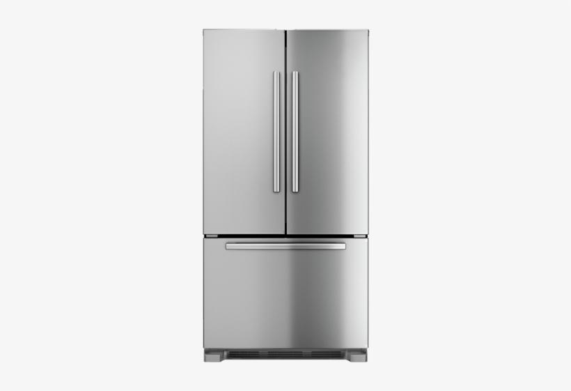 """36"""" Counter Depth French Door Bottom Freezer 800 Series - Bosch French Door Fridge Freezer, transparent png #2497206"""