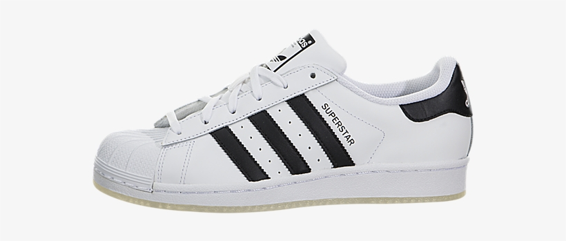 uk availability a834d 2dc9e Adidas Kids Superstar Grade School Casual Shoe - Transparent Adidas Shoes  Png, transparent png