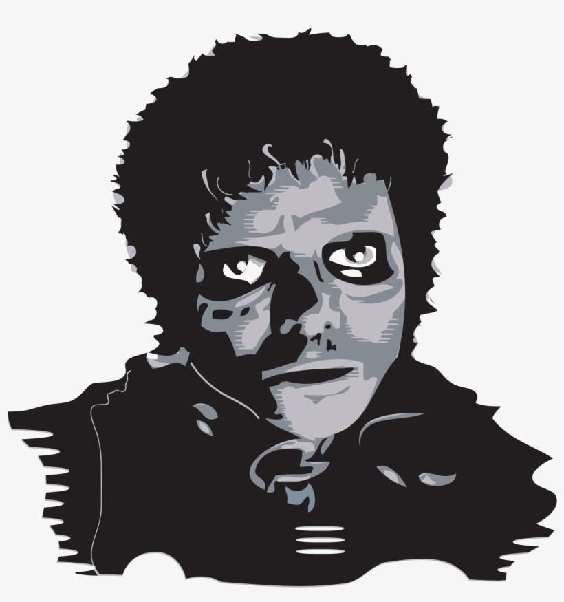 Open - Michael Jackson Thriller Vector, transparent png #251154