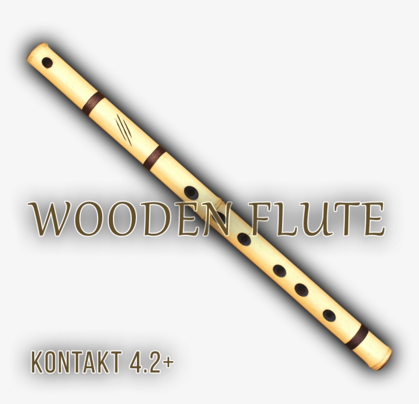Exclusive Wooden Flute Favourite - Musical Instrument, transparent png #251329