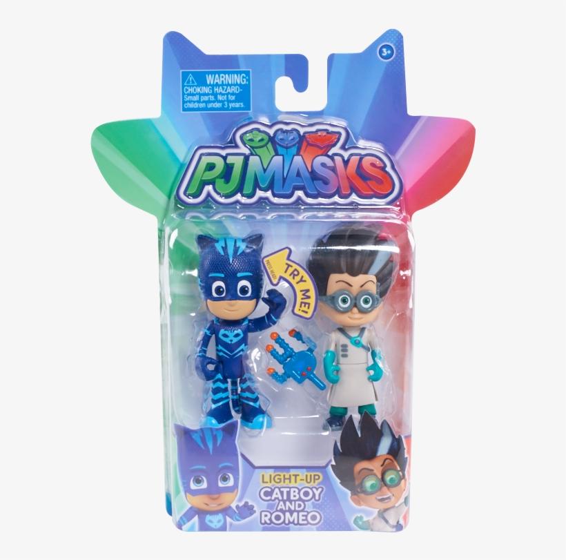 Pj Masks 2pk Light Up Hero Vs - Pj Mask Romeo Toy, transparent png #251660