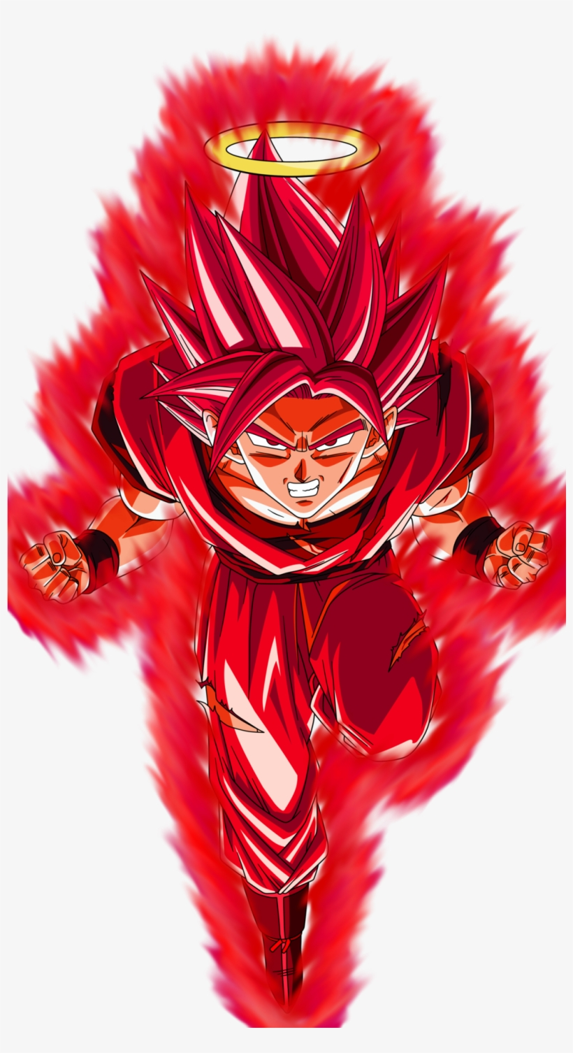 Super Kaioken Goku Aura By Inglip007-d5whzmr - Dragon Ball Goku Super Kaioken, transparent png #253799