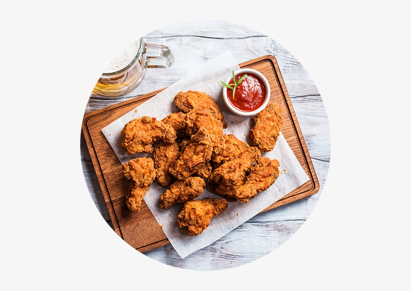 Fried Chicken - Chicken Wings, transparent png #255425