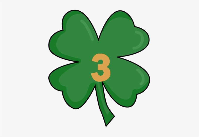 Today Is Also A Double Blog Hunt Day Click Here To - Four Leaf Clover Transparent, transparent png #256091
