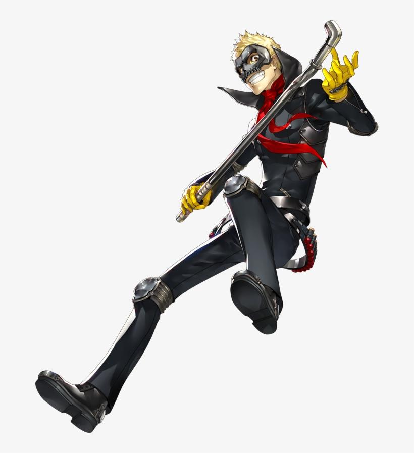 Persona 5 Mask, Persona 4, Persona 5 Cosplay, Game - Persona 5 Ryuji Figure, transparent png #256457