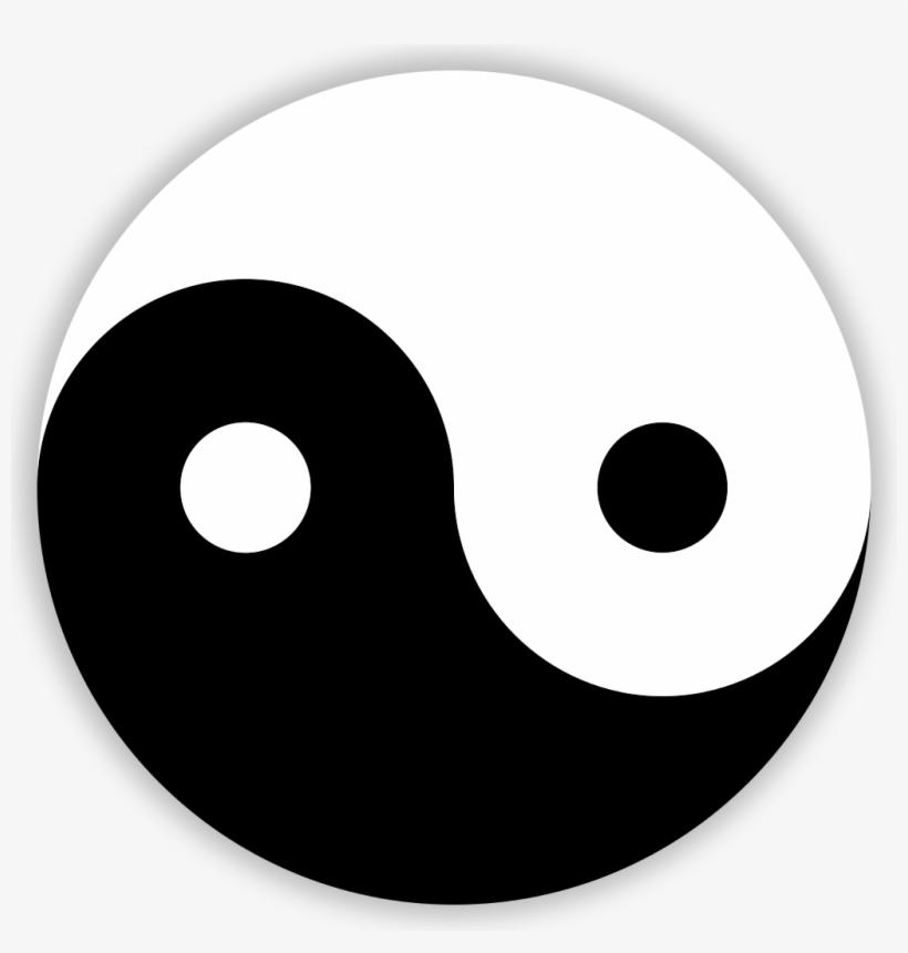 File Ying Yang Svg Easy Symmetrical Balance Drawing Free