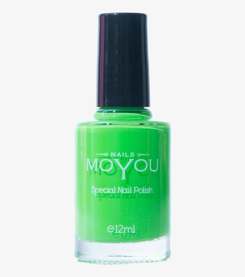 Nail Polish Png - Moyou Grey Nail Lacquer, transparent png #256836