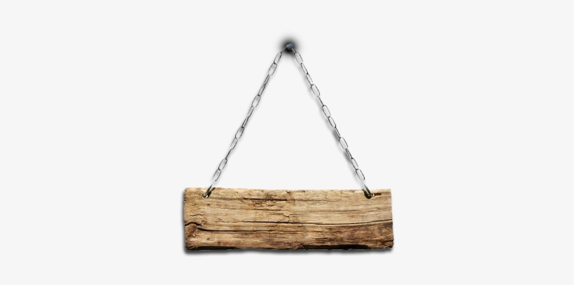 The Gallery For > Hanging Wooden Sign Png - Hanging Wooden Sign Png, transparent png #256856