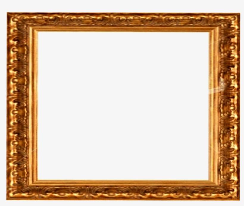 Golden Frame Png Download Image - Victorian Picture Frame Png, transparent png #257067