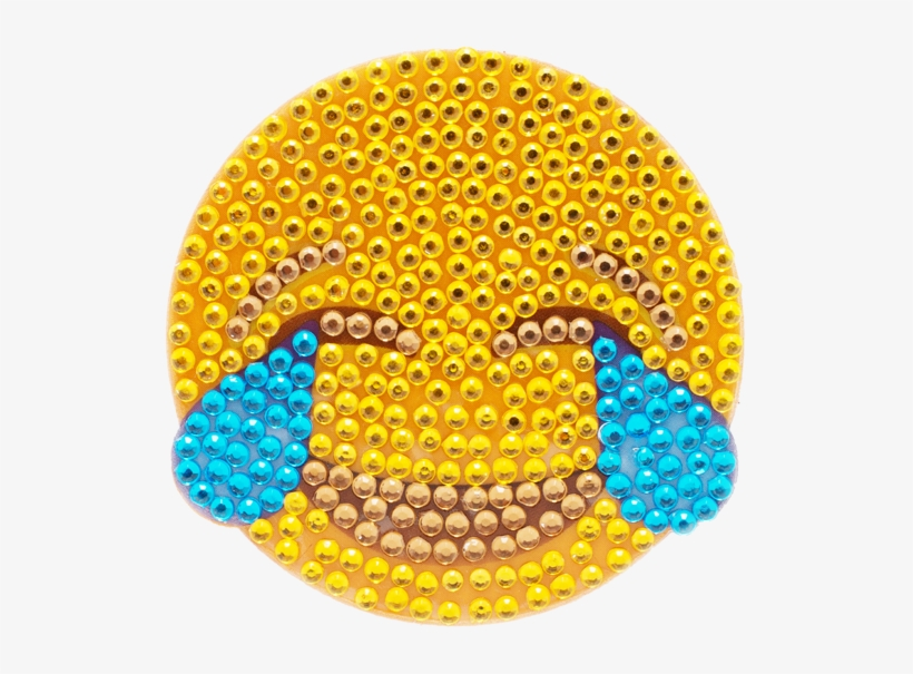 Crying Face Emoji Stickerbeans - Emoji Crying Face, transparent png #257771