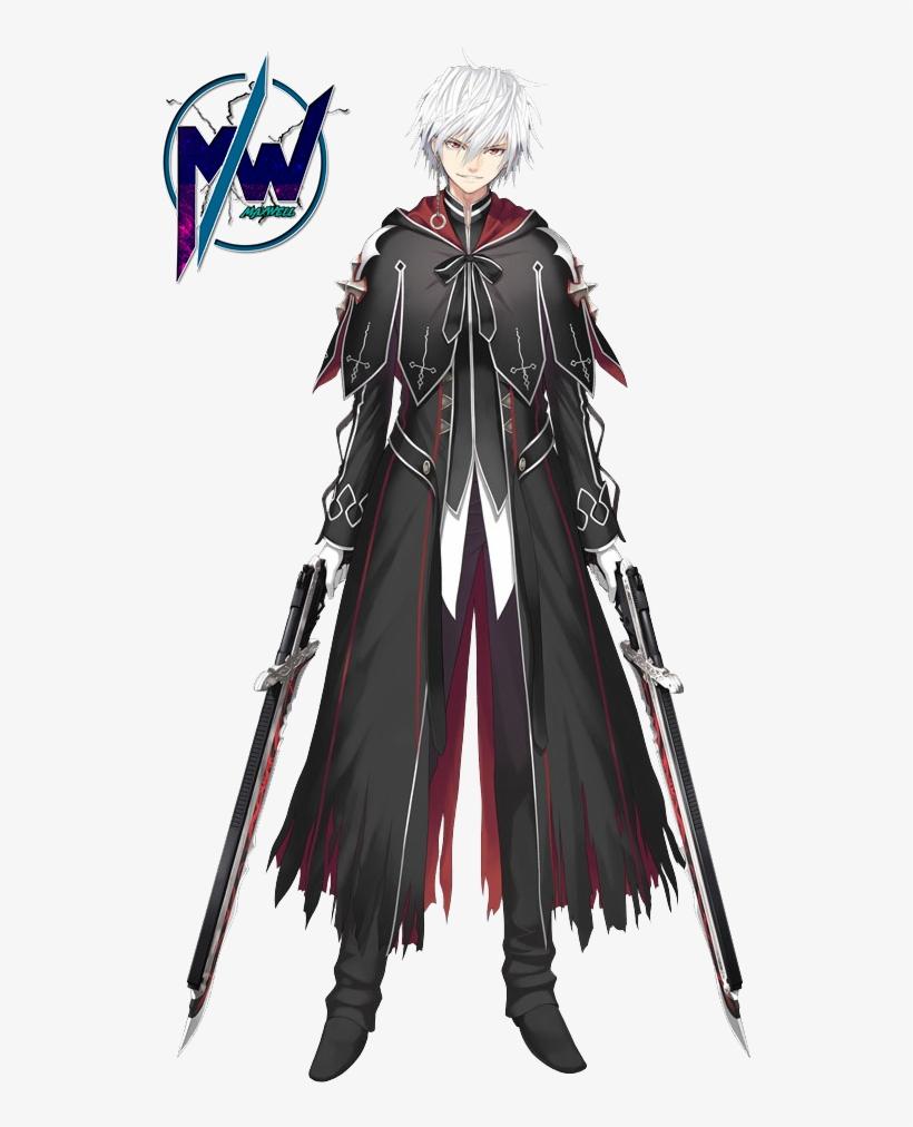 Male anime char png by maxxwellx on deviantart male swordsman anime oc