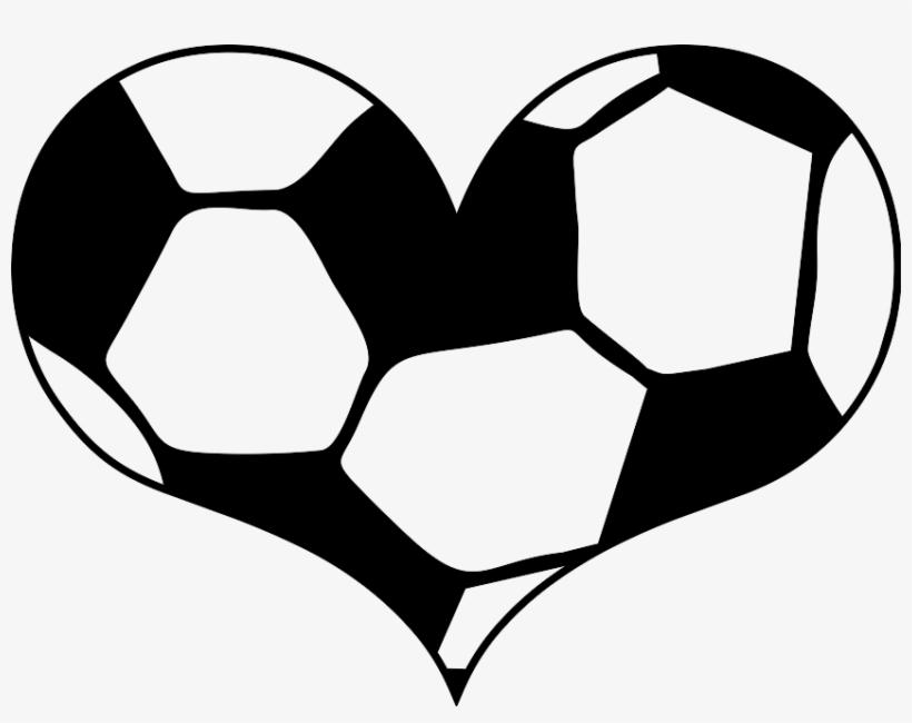 Heart Svg Soccer Wandtattoo Fussball Herz Free