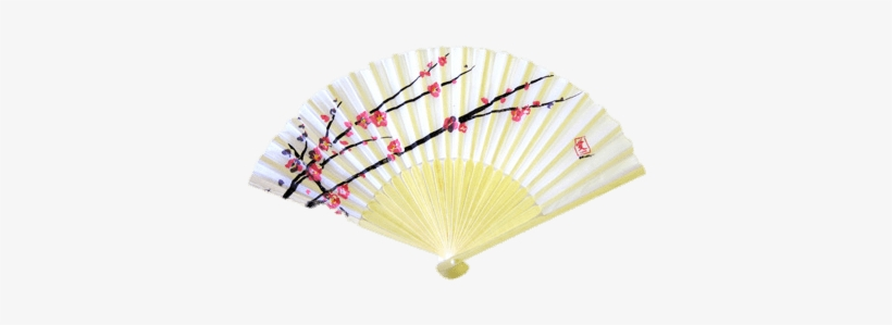 Cherry Blossom Chinese Fan - Japanese Fans Cherry Blossom, transparent png #258215