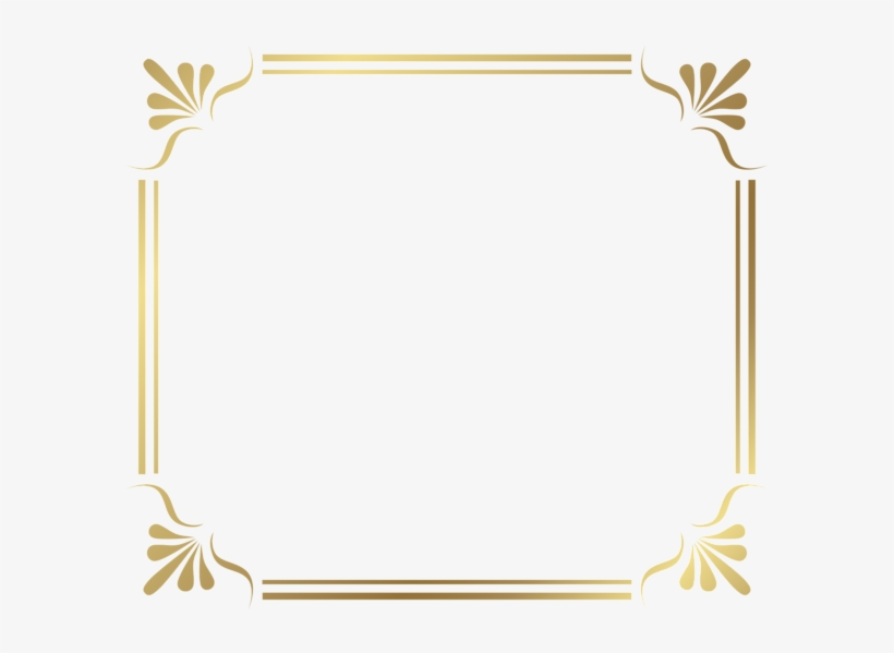 Borders For Paper, Border Design, Certificate Border, - Modern Border Frames Png, transparent png #258682