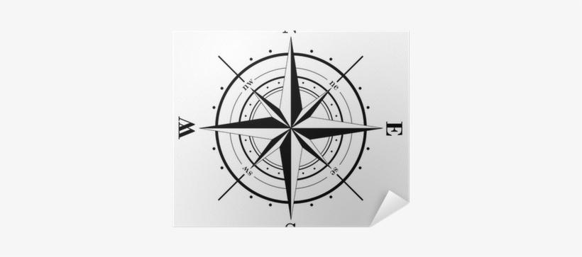 Ancient Compass Rose Map, transparent png #258980