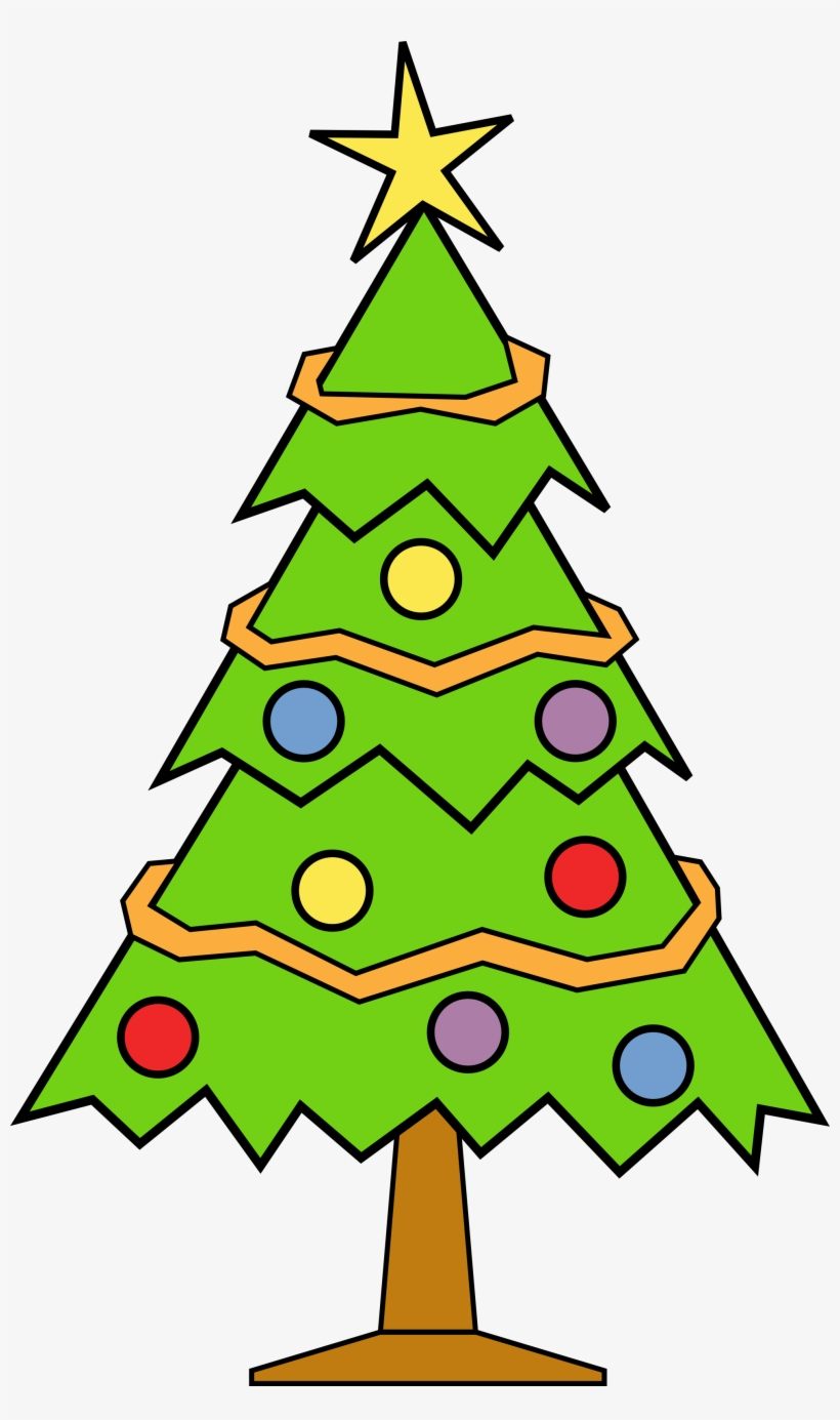 Clip Arts Related To - Christmas Tree Clip Art, transparent png #259433