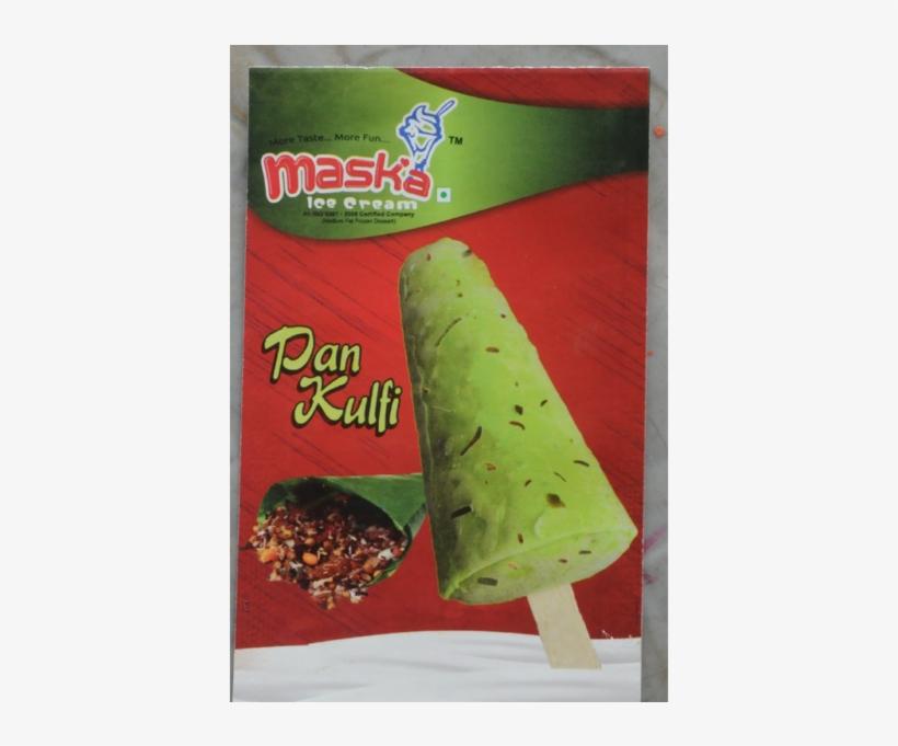Pan Kulfi - Ice Cream Bar, transparent png #2500984