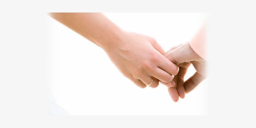 Couple Holding Hands At Intimate Wedding Venue - Christian Premarital Counseling: Preparing The Two, transparent png #2501977