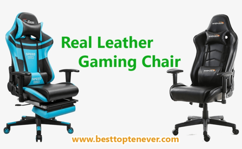 Top Ten Real Leather Gaming Chair - Gaming Chair, transparent png #2507050