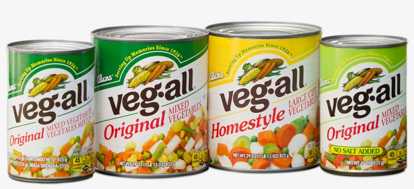 Product-cans - Veg-all Original Mixed Vegetables 29 Oz Can, transparent png #2507082