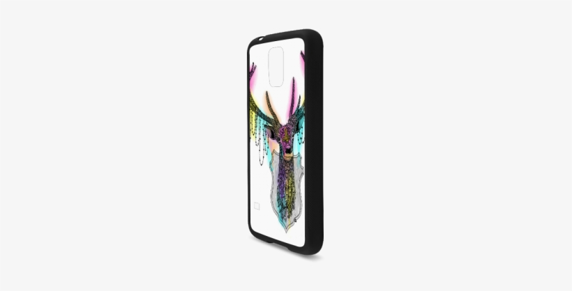 Watercolor Deer Head, Ornate Animal Drawing Rubber - Mobile Phone Case, transparent png #2509890