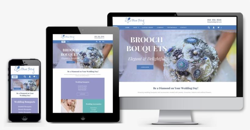 Blue Petyl E Commerce Screen Shots - E-commerce, transparent png #2510464