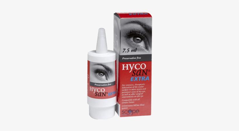 Hycosan Extra Eye Drops - Goutte Pour Les Yeux, transparent png #2510632