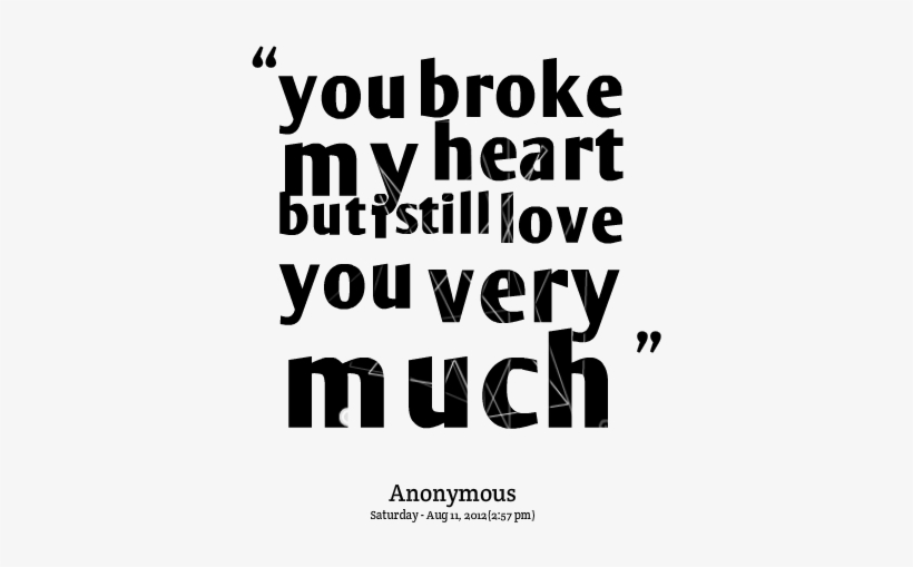 Im Sorry For Hurting You Quotes I M Hurt But I Still Love You