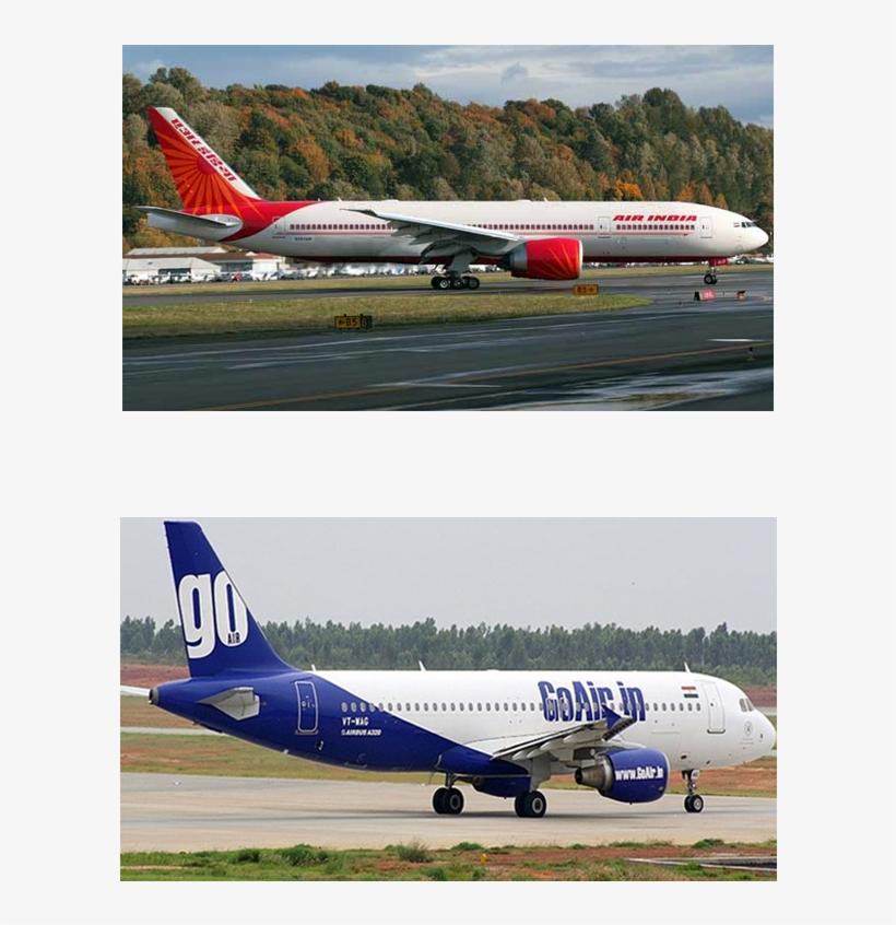 Flight Booking - Air India Plane, transparent png #2512560